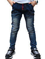 Boy's Wild Casual/Daily Washed Denim Pants / Jeans