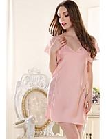 Girl&Nice Women's Rayon Robes-L3660