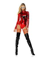 Costumes Plus de costumes Halloween Rouge / Noir Imprimé Térylène Collant/Combinaison / Plus d'accessoires