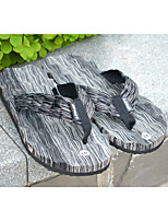 Men's Slippers & Flip-Flops Summer Slippers PVC PU Casual Flat Heel Others Blue Gray Tan Others