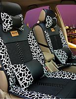весна лето новый автомобиль подушки леопарда автомобиля подушки сиденья четыре общего льда шелковые подушки
