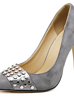 Women's Heels Spring / Summer / Fall Heels Synthetic Office & Career / Casual Stiletto Heel Black/Silver/Gray/Gold
