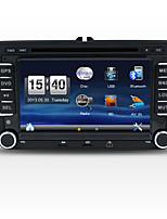 2 din 7 '' reproductores de DVD del coche con GPS Navi para Volkswagen radio estéreo SWC en el tablero de USB / SD