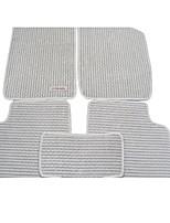 лен замшевые коврики специальный автомобиль ковровое покрытие зеленый автомобильный коврик