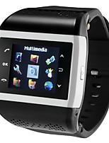 Compass / Bluetooth / Photo Mp3/Mp4/FM/QQ Dual Sim Dual Standby Call Watch Mobile Phone