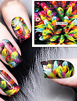 Manicure Decal Japanese Harajuku watermark stickers QQ Phototherapy Nail polish Glue Accessories Decals