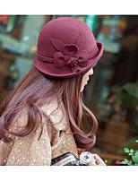 Women Tweed Bucket HatCasual Spring / Fall / Winter