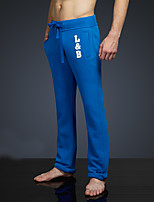 LOVEBANANA Men's Active Pants Blue-34071