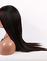 16-26 Inch 10A Straight Brazilian Virgin Hair Full Lace Wigs Human Hair Wig for Fashion Women