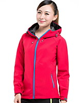 Hiking Softshell Jacket Unisex Waterproof / Thermal / Warm / Windproof / Anti-Eradiation / Wearable / Sweat-wicking