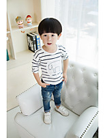 Boy's Casual/Daily Striped Hoodie & SweatshirtCotton Winter / Spring / Fall Blue