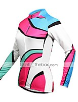 KEIYUEM® Maillot de Ciclismo Mujer / Hombres / Unisex Mangas largas BicicletaImpermeable / Transpirable / Secado rápido / Diseño