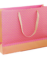 Large High-End Fashion Simple Pink Love Valentine'S Day Gift Romantic Gift Bag 47*35*15