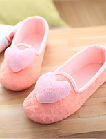 Women's Slippers & Flip-Flops Spring Fall Comfort Fleece Casual Flat Heel Others Pink Gray Others