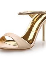 Women's Heels / Sandals / Styles Leather Wedding / Party & Evening / Dress Stiletto Heel OthersBlack /