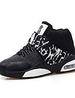 Men's Sneakers Spring / Fall Comfort PU Casual Flat Heel  Black / Blue / Gray Basketball