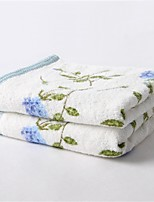 1 PC Full Cotton Hand Towel 13 by 29 inch Floral Pattern Super Soft