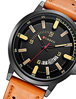 watch men relogio masculino military watch sports waterproof leather mens watch quartz watch wristwatch