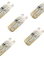 YouOKlight 5PCS G9 3W SMD 64*3014 Warm White / Cool White LED Decorative Lights AC220-240V