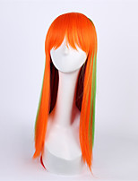 Europe And the United States Festival Wig Female Can With Ms Cos Anime Wigs Liu Haisan Color Long Straight Hair