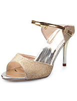 Women's Sandals Summer Sandals PU Casual Stiletto Heel Others White / Silver / Rose Gold Others