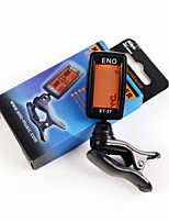 ENO ET-37 LCD Tuner Mini Clip-on Guitar Chromatic Bass Violin Ukulele Tuner Wind Instrument Universal Musical Instrument