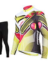 Tasdan Professional Mens Cycling Jersey Suits Long Sleeve Cycling Top Full Short Jersey Cycling and (bib) Pants Suit