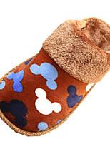 Unisex Slippers & Flip-Flops Winter Comfort / Slippers /  Flats Velvet Outdoor / Casual Flat Heel OthersBlue /