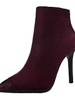Women's Boots Fall Bootie / Pointed Toe / Closed Toe Suede Dress Stiletto Heel Others More Colors Available.