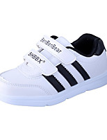 Unisex Sneakers Spring / Fall Round Toe PU / Leatherette Casual Flat Heel Slip-on White / Gold Others