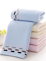 1 PC Full Cotton Hand Towel 13 by 29 inch Dot Pattern Super Soft