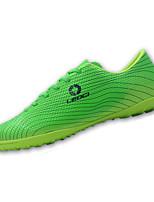 Masculino-Tênis-Conforto-Rasteiro-Azul Verde Laranja-Courino-Ar-Livre Casual