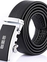 Katusi 7 New Mens Ratchet Belt Fashion Business Casual Style Genuine Leather 3.5cm Width kts7-2