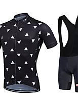 Esportivo Moto/Ciclismo Calções Bibes / Camisa + Bermuda Bib / Pulôver / Camisa/Fietsshirt / Camisa + Shorts / Conjuntos de Roupas/Ternos