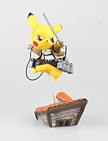 Pocket Little Monster Attack PIKA PIKA PVC 15cm Anime Action Figures Model Toys Doll Toy