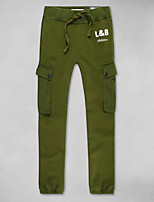 LOVEBANANA Men's Active Pants Green-39002