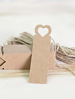 The wedding gift love Classic Theme Stickers Labels & Tags-100 Piece/Set Labels / Tags Non-personalized Brown