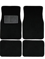 AUTOYOUTH 4pc Full Set Heavy Duty Deluxe Carpet Floor Mats Universal Fit Mat for Car SUV Van & Trucks - Front & Rear