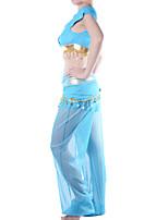 Costumes de Cosplay / Costume de Soirée Conte de Fée Fête / Célébration Déguisement Halloween Bleu Couleur Pleine Haut / Pantalon