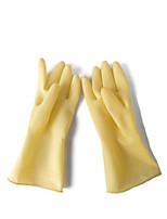расширенный утолщенной бытовые резиновые перчатки водонепроницаемый масло вольвическо щелочи большого размера 2 пары по продаже