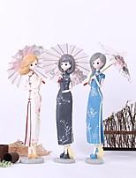 Personagens Poliresina Moderno/Contemporâneo / Casual Interior Acessórios decorativos