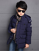 Boy's Casual/Daily Solid Down & Cotton PaddedCotton / Rayon Winter / Spring / Fall Blue / Red