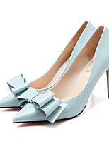 Women's Heels Spring / Summer / Fall Heels / Pointed Toe / Closed Toe  Casual Stiletto Heel Bowknot