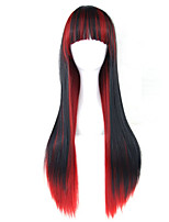 Europe And The United States The New Gradient Cosplay Anime Long Curly Wig Color Female Hair Wigs Lolita