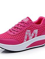 Da donna-Sneakers-Tempo libero / Casual-Creepers-Plateau-Di corda-Verde / Rosso / Grigio
