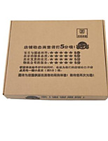 Clothing Packaging Cardboard Box     Size  Small40*40*5CM   3 Packaged for Sale
