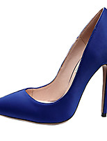 Women's Heels Spring / Fall Heels / Pointed Toe Silk Wedding / Party & Evening / Casual Stiletto Heel OthersBlack / Blue