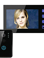 ENNIO SY816A11 7 Inch HD Wireless Remote Unlocking Video Intercom Doorbell
