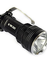 Lights LED Flashlights/Torch / Bike Lights / Lanterns & Tent Lights / Safety Lights LED 2500 Lumens 1 Mode Cree XM-L T6 18650Waterproof /