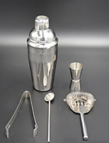 Le nouveau kit 750ml de mélange cocktail martini shaker outil de barres en acier inoxydable de parti